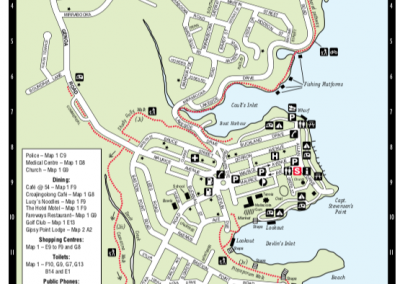 mallacoota town map 1