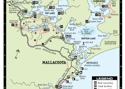mallacoota town map 2