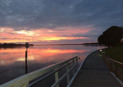 Metung Boardwalk Sunrise