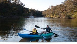 Riveria nautic Kayak Hire Metung Chinamans Creek