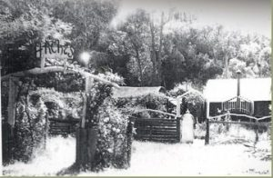 The original Arches – Circa 1950-60s. Source: Stratford Museum.