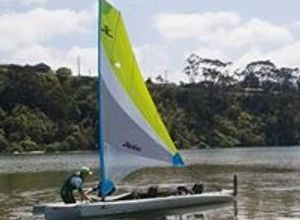 Sailing kayak hire Metung